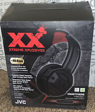 JVC Xtreme Xplosives HA-SR50X-B Wired Headphones ~Black/Red~ NEW (4)
