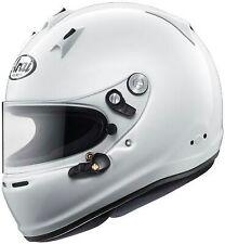 ARAI GP6 PED Racing Helmet Brand new with hans posts. SA2015 REDUCED PRICE.