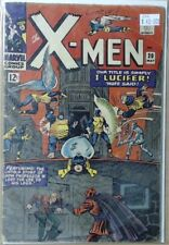 X-Men Comic Book Number 20 The Marvel Comic Group - I, Lucifer! Nuff Said!