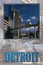 People Mover, Detroit Michigan, Monorail, Train, Transportation, MI --- Postcard