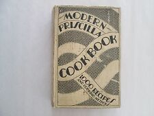 MODERN PRISCILLA COOK BOOK 1929 Hardcover 1000 Recipes and Cooking Methods