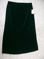 Womens Bice Black Skirt Long NWT XL Feels like Velvet