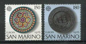 S27613) Dealer Stock San Marino 1976 MNH New Europa 2v (X10 Sets)