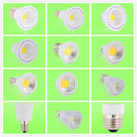 Power GU10/MR16/E14/E27 COB SMD LED Lampe Licht Leuchtmittel Birne 3/4/5/6.5/8W