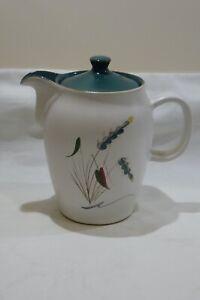 VINTAGE DENBY GREEN WHEAT TEA / COFFEE POT
