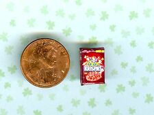Smaller 1/2 Half Inch Scale Dollhouse Miniature Cocoa Cereal Flakes Box