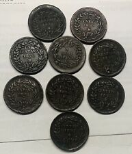 A Lot Of Old Un Centavo from Mexico