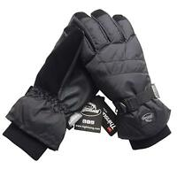 Men's Waterproof Thinsulate Ski Snowboard Gloves Winter Warm Gloves S, M, L, XL