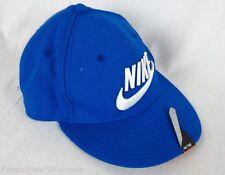 Nike Adult Unisex Blue Nike Swoosh Logo Cap One Size fits Most