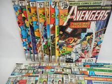 40- The Avengers Comics (including #196) Lot 140