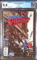 Superman Unchained (2013 DC) #2 Leon Variant CGC 9.4 1:100