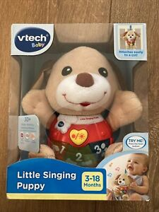 VTech Singing Little  Puppy Musical Learning Baby Toy