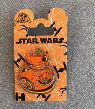 Disney Parks Trading Pin Star Wars Halloween 2018 BB8 BB-8 PUMPKIN NEW