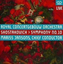 Shostakovich: Symphony No.10, Mariss Jansons, Royal Concertgeb, Good Hybrid SACD