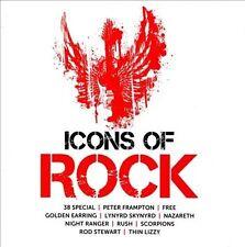 Icons of Rock (CD) Lynrd Skynrd Rush Scorpions Nazareth 38 Special Night Ranger