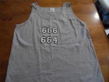 Iron Maiden 666 The Number of the Beast, 664 The Bloke Next Door Grey sleeveless