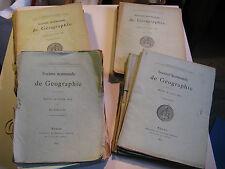 17 N° REVUE SOCIETE NORMANDE GEOGRAPHIE 1879-83 Cartes AFRIQUE MEXIQUE GUYANE