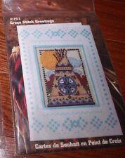 TEEPEE  Design Works Cross Stitch Greetings Card Cross Stitch Kit