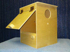 1 Cockatiel Nest Box Aviary Breeding Bird Nesting Boxes Cages SUPERB QUALITY