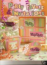 Party favors & invitations papier artisanat brochure