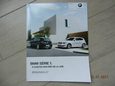 Catalogue BMW série 1 2010 + tarif 2010