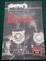 The Burlington Railroad 1933 Chicago World's Fair Souvenir Book