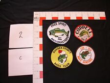 Hunting, fishing, camping, hiking, outdoor sports, vintage  patch collection