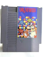 Dr. Mario ORIGINAL Nintendo NES Game Tested + Working & Authentic!
