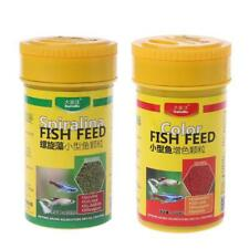 Spirulina Food Tropical Fish Nutrition For Aquarium Fish Tank Enhanced Food