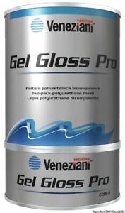 Smalto bicomponente Gel Gloss grigio autunno ( 65.008.00GA )