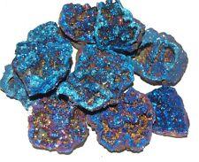 Similar Amazing Cobalt Blue  Aura Quartz Druzy Geode  Goddess Symbol Inner Peace