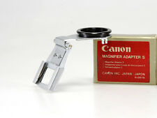 CANON MAGNIFIER ADAPTER S NEW /NUOVI