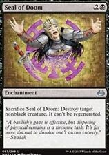 Seal of Doom NM X4 Modern Masters 2017 Black Uncommon MTG