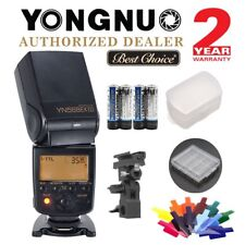 Inalámbrico Yongnuo YN568EX III Kit HSS TTL Speedlite Flash para Nikon D750 D5600 Reino Unido