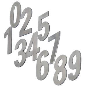 Self-adhesive Weather Proof Door Numerals Numbers 316 Marine Grade Stainless