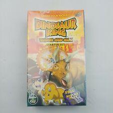 Dinosaur King Trading Card Game Starter Set New In Box sealed rare