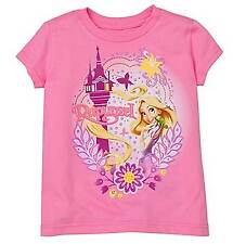 Disney Store Rapunzel Tangled  T- Shirt (S) Size 5/6