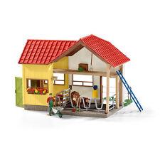 Schleich Farm Life Barn With Animals Accessories 42334