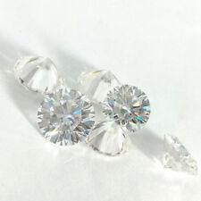 Fiery 3.5 MM 0.15 Carat Near White Round Brilliant Cut Loose Moissanite for Ring