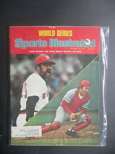 Sports Illustrated October 20, 1975 Tiant Red Sox Bench Reds Nicklaus Oct '75 B