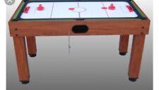 Air Hockey - Tavolo ZODIAC - dischetti + 2 Manopole rosse.