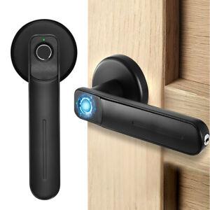 Security Electronic Smart Door Lock Fingerprint Biometric Door Handle UK