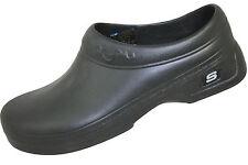 76381 Skechers Women's Oswald-Clara Work Clogs Scrub Ups  Non slip Black
