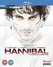 HANNIBAL Stagione 2 BOX 4 BLURAY in Inglese NEW .cp