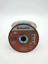 SET 50 DISCHI TAGLIO WURTH 125X1,6 ACCIAIO / INOX OFFERTA STOCK FALLIMENTO