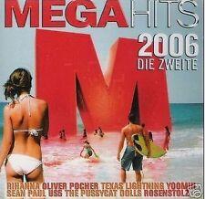 MEGA HITS 2006 -2 CD Neu Fler Rosenstolz Rihanna Seeed Deichkind Black Eyed Peas