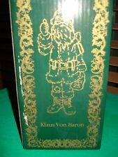 Boyds Holiday by Boyds Collection Style #28009 Klaus Von Baron