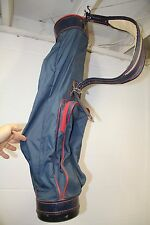 Vintage Burton Mfg. Jasper, AL Golf Bag Sunday Bag Lightweight 2.89# No Spine