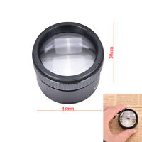 Portable 30x36mm Jeweler Loupes Magnifier Tool Glass Loop Pocket Microscope SK