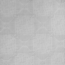 RD0145 Anaglypta Supaglypta White Textured Paintable Wallpaper